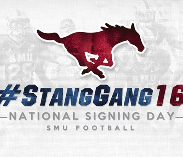 Meet SMU Football's #StangGang16
