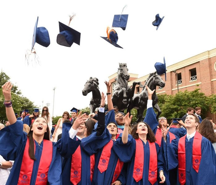 Scenes From SMU's May Commencement Ceremony