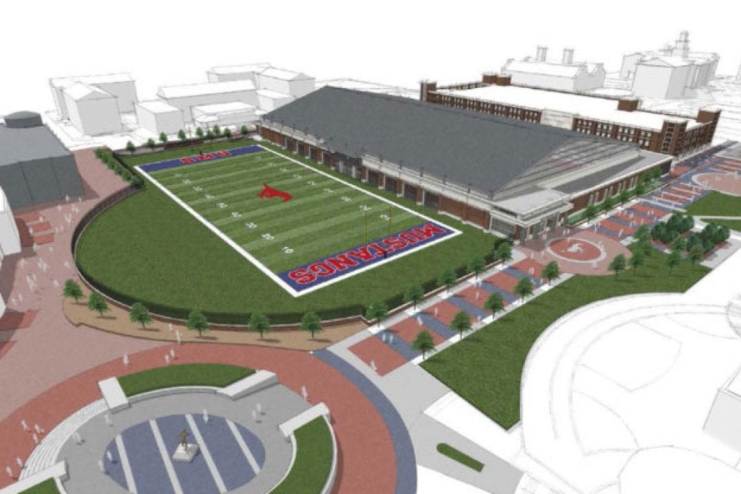 SMU Athletics Reveals Future Facilities Projects