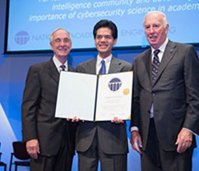 SMU Cyber Defender Inducted Into National Academy Of Engineering