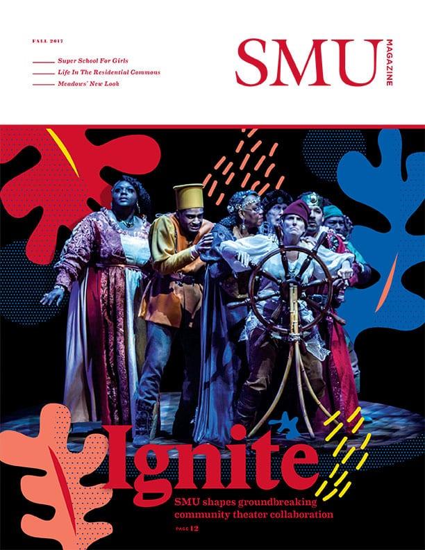 SMU Magazine Fall 2017 cover