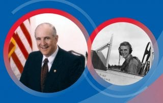 Congressman Sam Johnson '51 has made two girts to SMU that reflect his life of service.