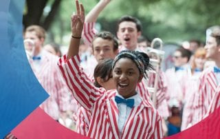 The Mustang Band will celebrate its centennial during SMU Homecoming 2017.