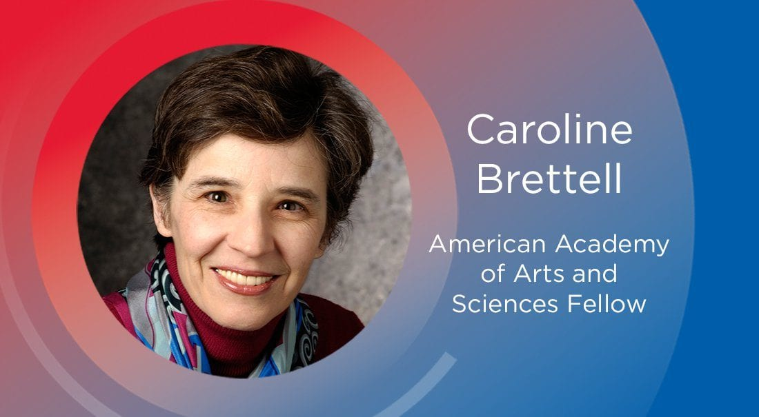 SMU anthropologist Caroline Brettell inducted into the American Academy of Arts and Sciences.