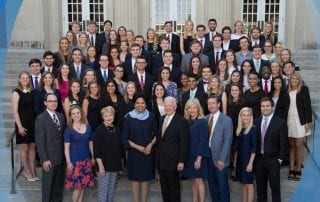 A $15 million gift from the Nancy Ann Hunt Foundation secures the long-term future SMU's Hunt Scholars Program.