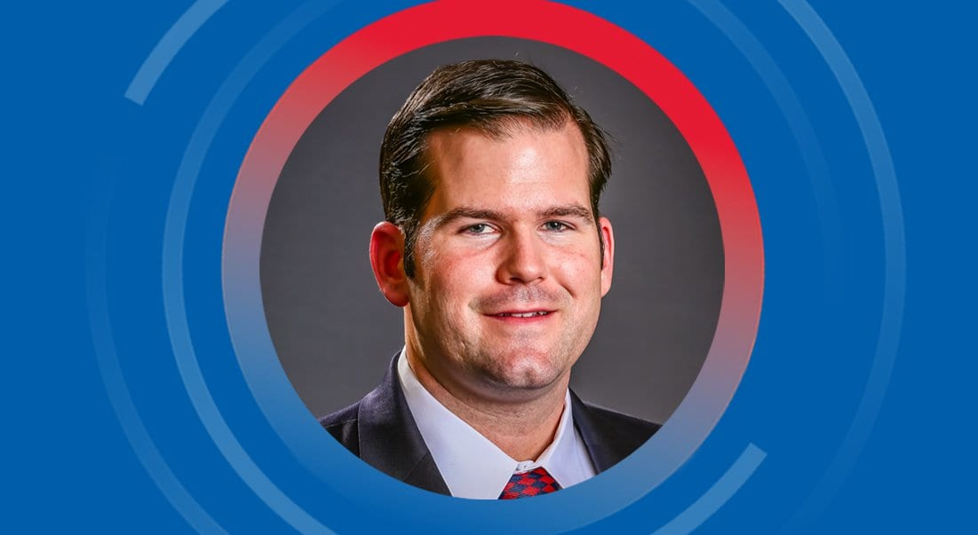 A scholarship made it possible for Evan Atkinson '17 to attend SMU's Dedman School of Law.