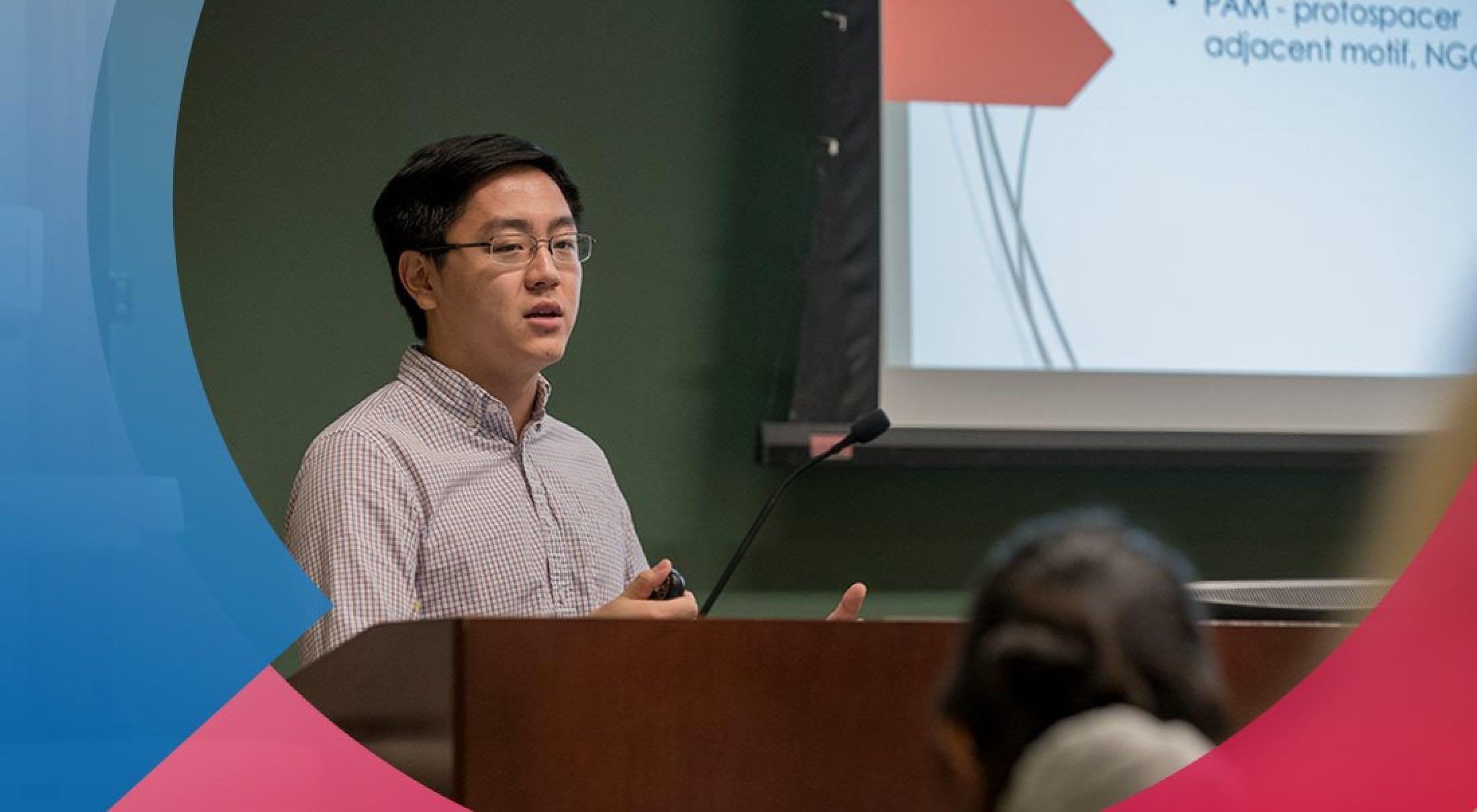 Student researcher Benjamin H. Chi is SMU's first Schwarzman Scholar.