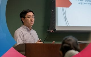 Student researcher Benjamin H. Chi is SMU's first Schwarzman Scholar.