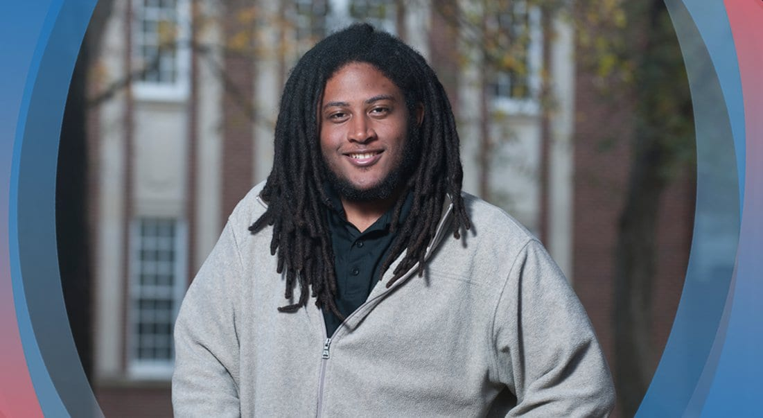 Biko McMillan '17 was named for activist Steve Biko and has lived up to his name a a leader uniting campus communities.