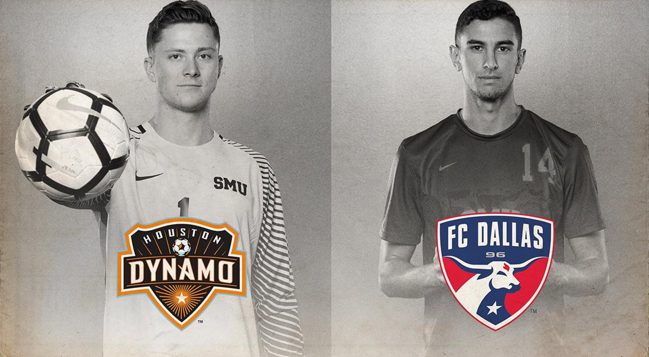 SMU seniors selected during the Major League Soccer SuperDraft.