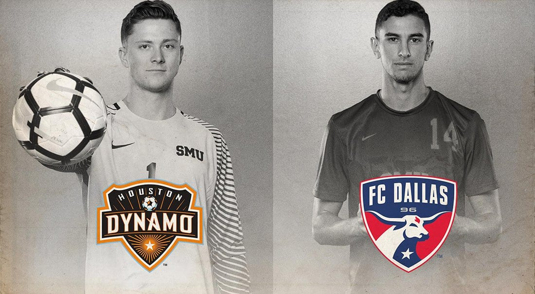 SMU seniors selected during the Major League Soccer SuperDraft.
