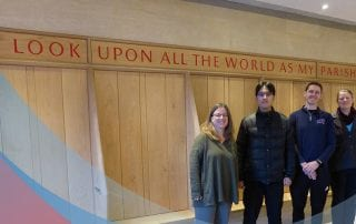 Perkins alumni are studying in England through a new partnership with Wesley House, Cambridge.