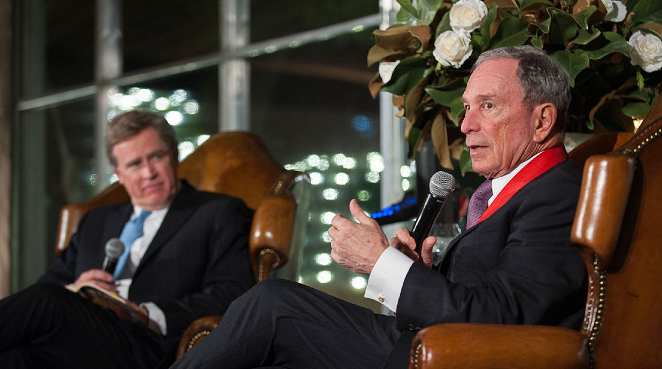 Michael Bloomberg received the Medal of Honors.