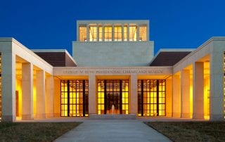 SMU will celebrate the fifth anniversary of the Bush Center during Founders' Day Weekend.