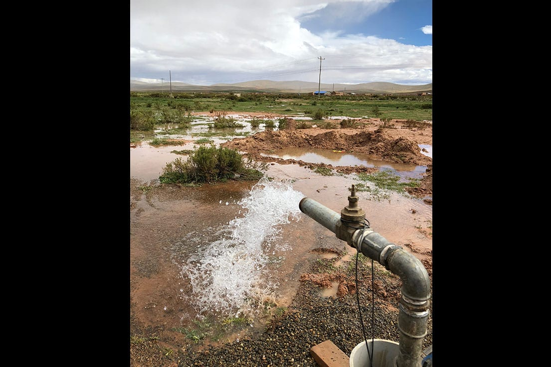 SMU's Engineers Without Borders are creating a clean water system in a Bolivian village.