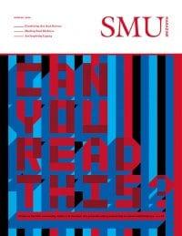 SMU Magazine Spring 2018 Cover