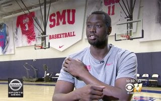 SMU's Akoy Agau '18 is a master of overcoming adversity to achieve his dreams.