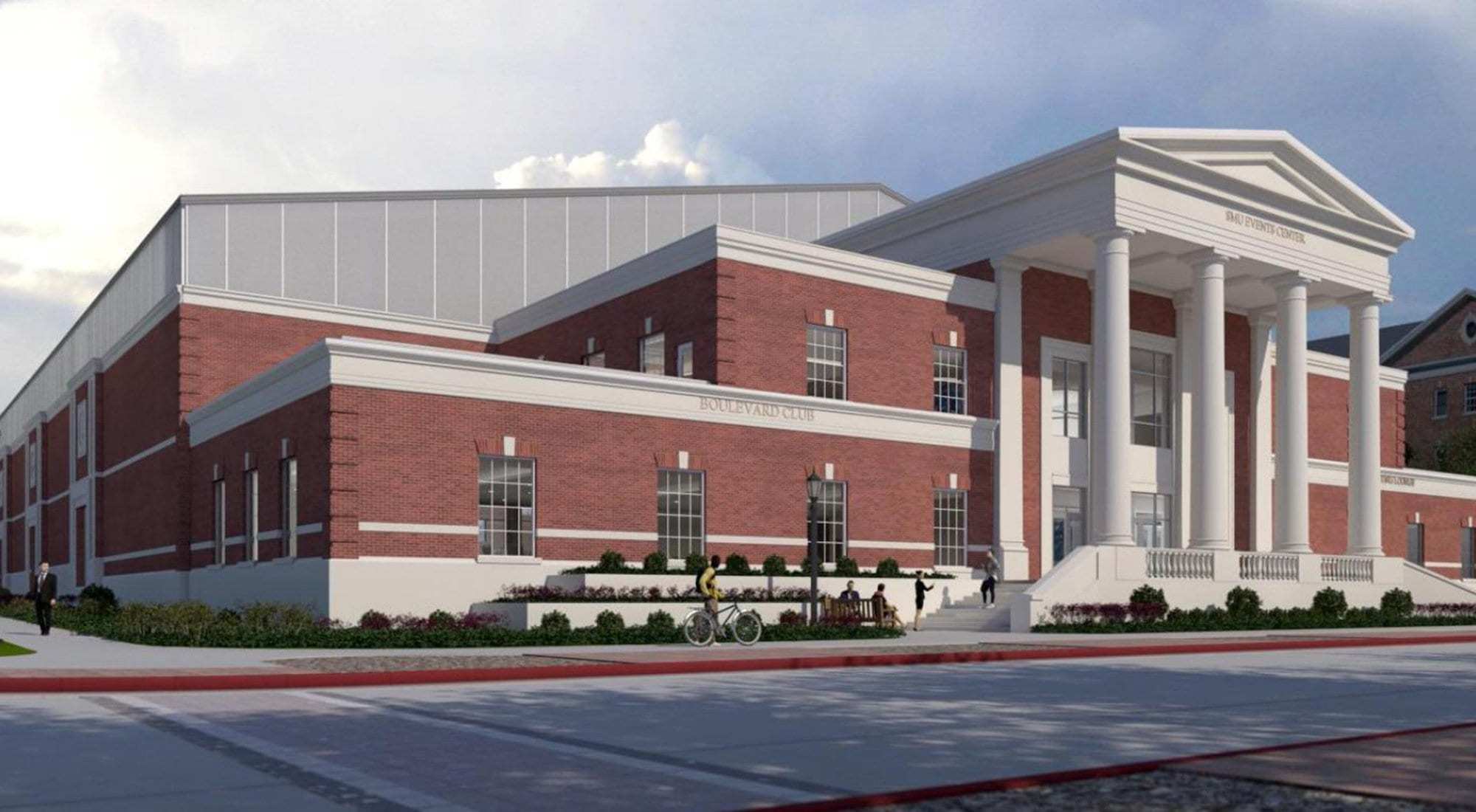 SMU Indoor Performance Center