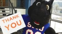 Peruna thanks all who contributed during Mustangs Give Back.