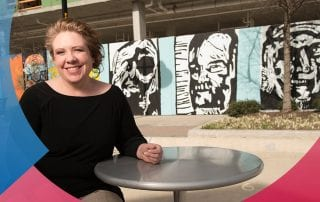 Julia Jalowiez '18 earned a bachelor's degree in May, and her art is getting noticed.