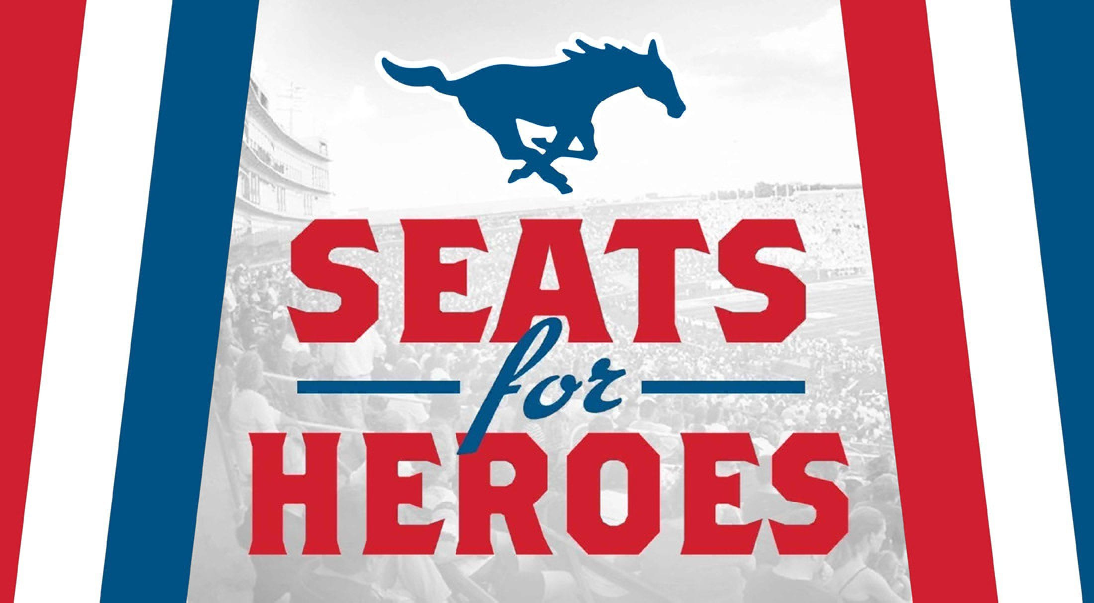 Honor local military members and first responders through Seats for Heroes.