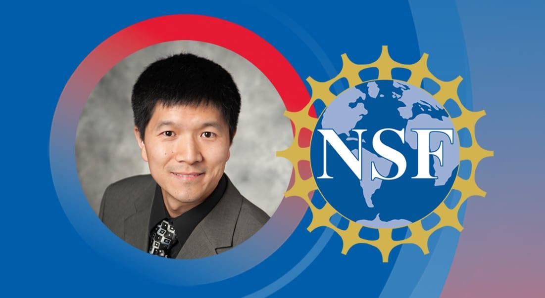 Chemistry Professor Peng Tao received a prestigious NSF CAREER Award.