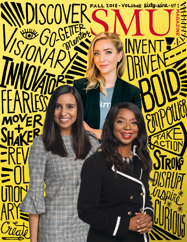 Whitney Wolfe Herd, Neha Husein and Candice Bledsoe.