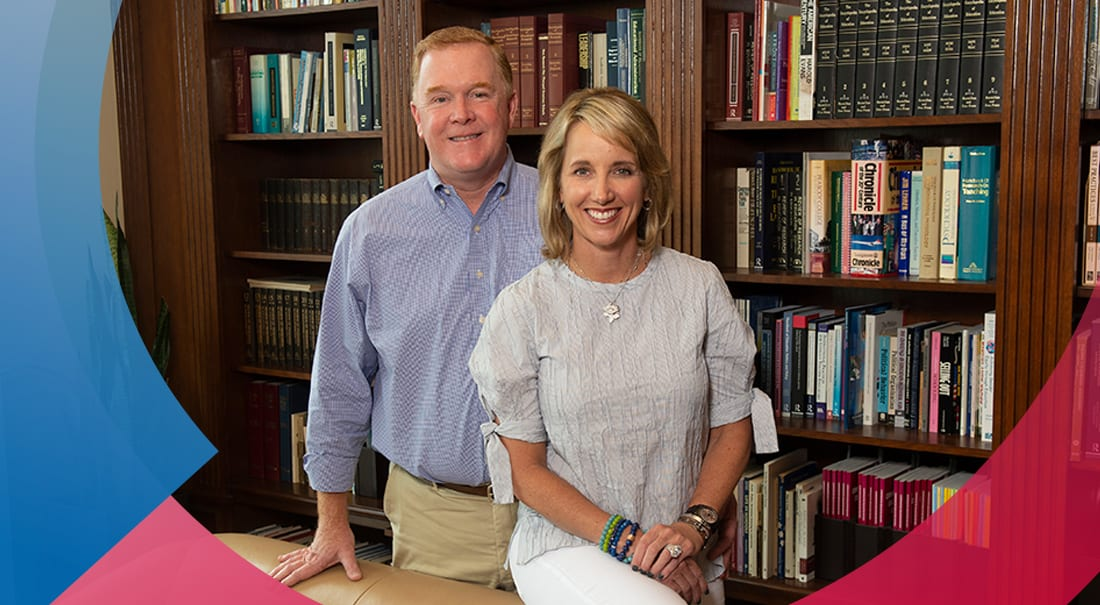 A gift from SMU parents Daniel M. Doyle, Jr. and Nicole Kudelko Doyle '94 will enable quick action on emerging opportunities.