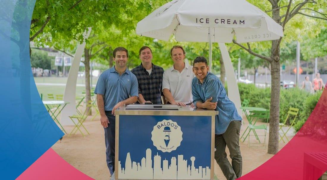 SMU alumni open ice cream shop across from campus.