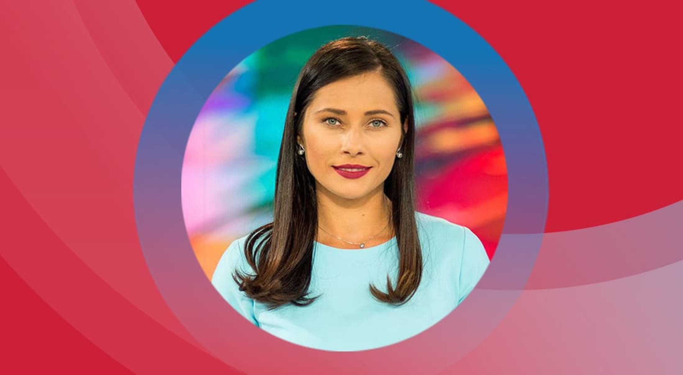 Bulgarian news anchor and SMU alum Petya Kertikova.