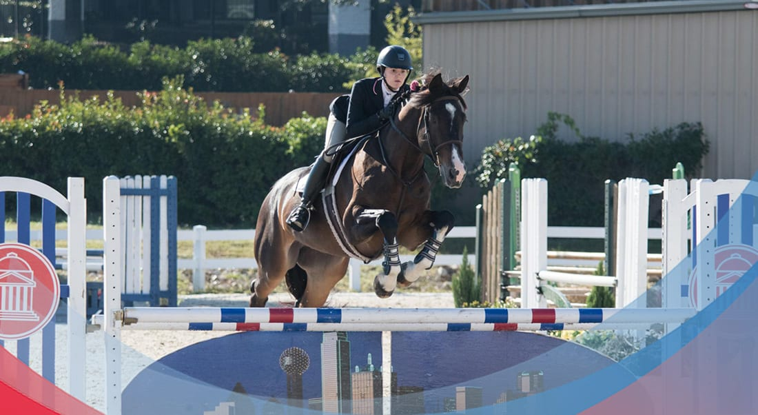 SMU Equestrian is No. 2 and undefeated for the fall season.