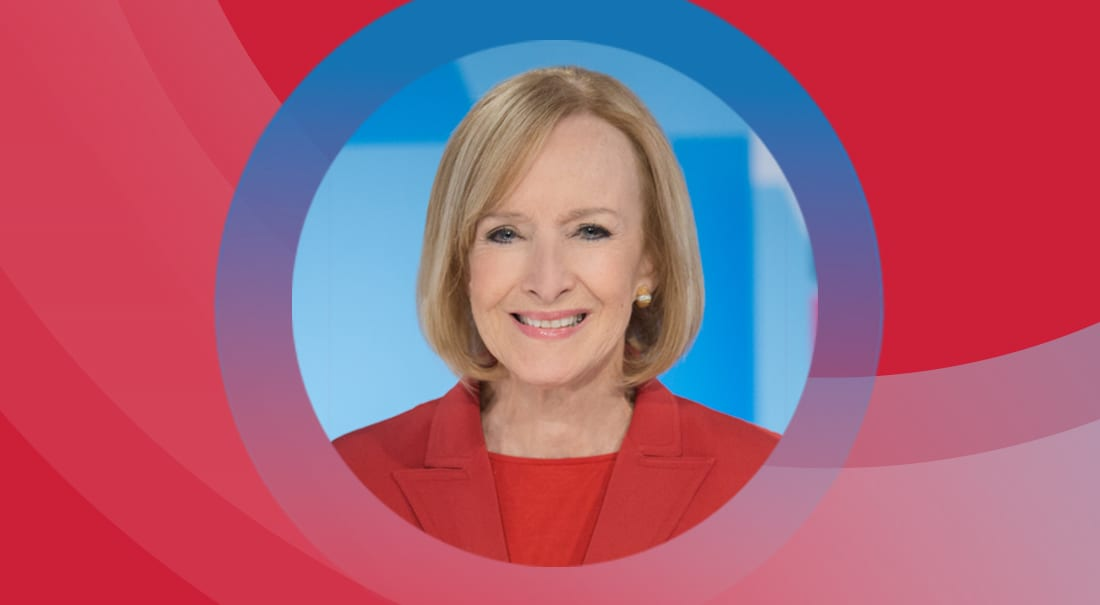 Journalist Judy Woodruff to speak at Perkins luncheon.
