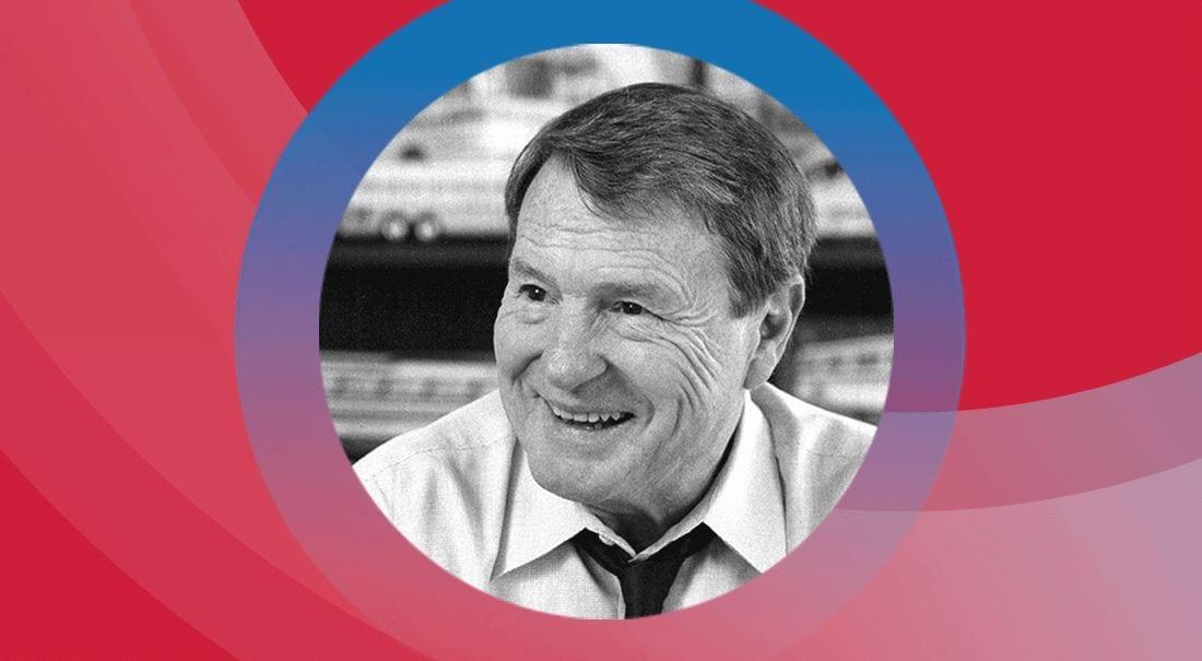 Jim Lehrer, 2019 Litearti Award recipient