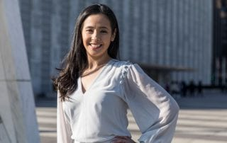 Ana Rodriguez '01, director of the Cox School of Business Latino Leadership Initiative