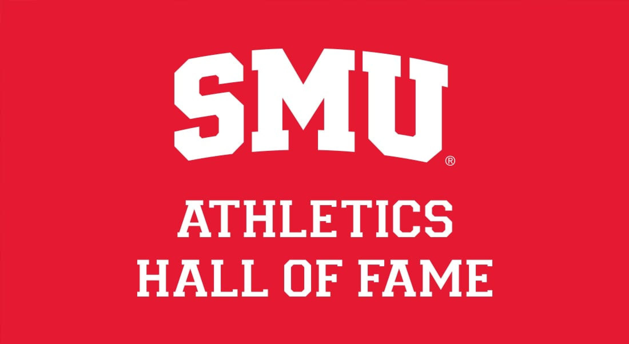 SMU Athletics Hall of Fame graphic