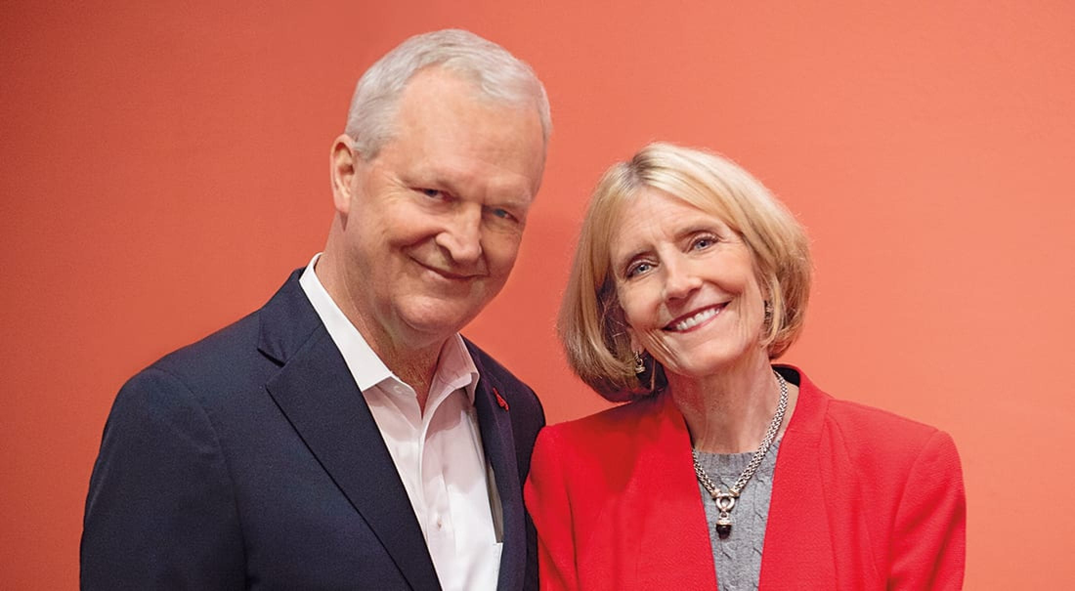 Chris and Connie O'Neill, co-chairs of the SMU Parent Leadershp Council
