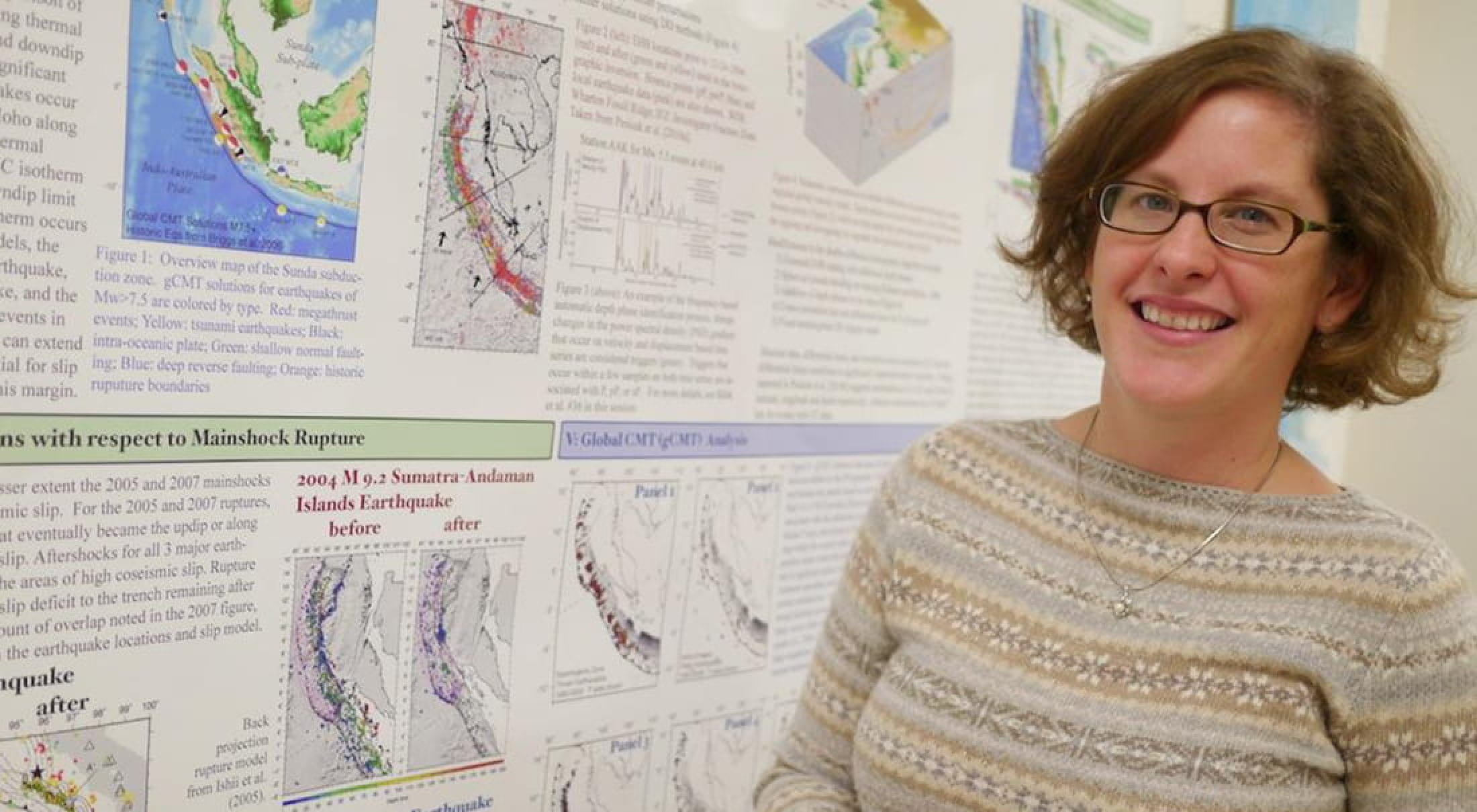 Prof. Heather DeShon and DFW seismic map study.