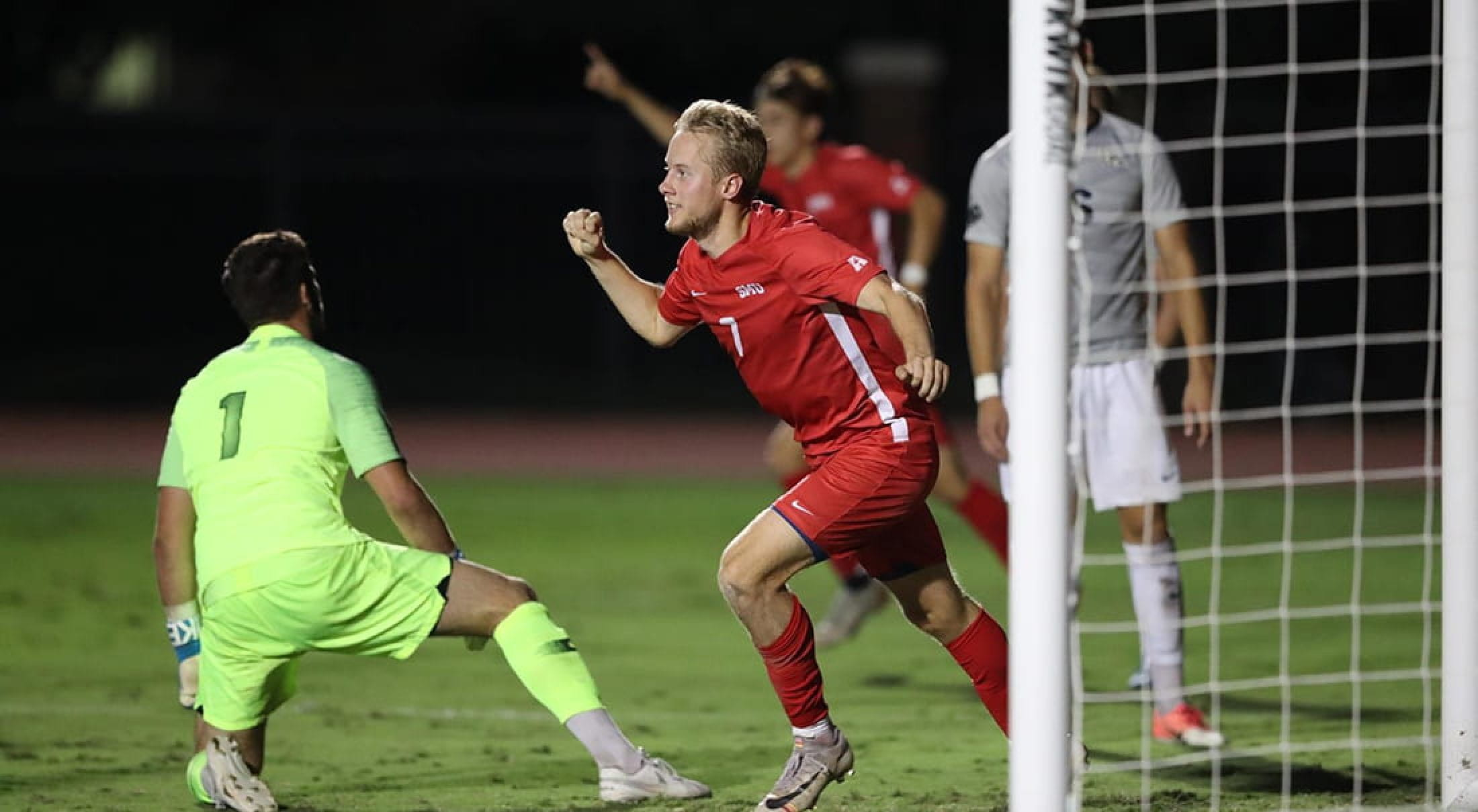 SMU soccer forward Garrett McLaughlin is finalist for national award