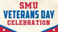 SMU will celebrate Veterans Day on November 11.