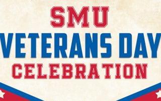 SMU will celebrate Veterans Day on November 11.