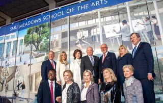 Owen Arts Center renovation kickoff on November 8, 2019.