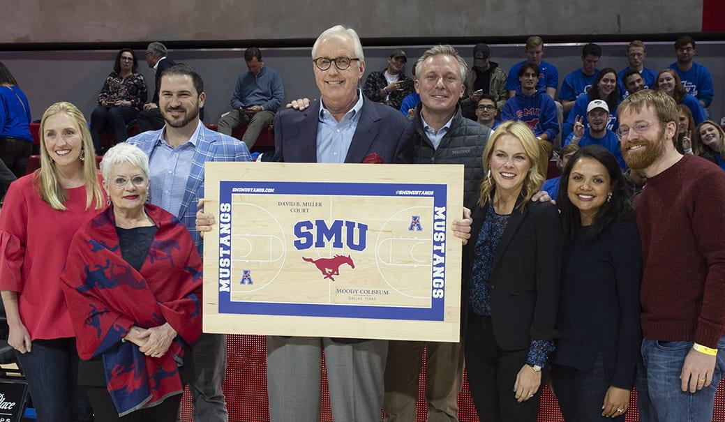 Miller Basketball Court Naming 2018