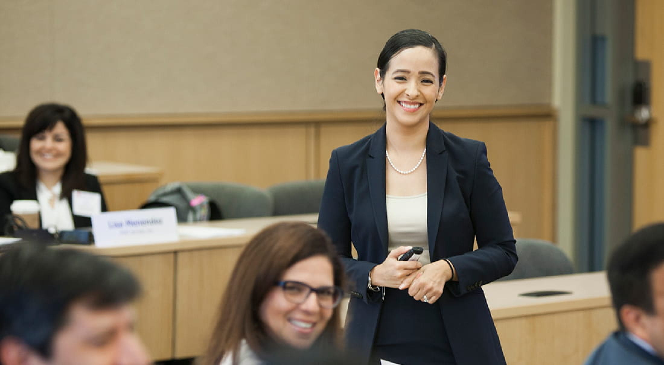 Ana Rodriguez of the Latino Leadership Initiative in the Cox School of Business.