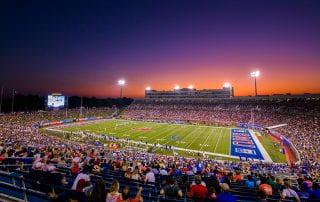 SMU's Gerald J. Ford Stadium turns 20 this year.