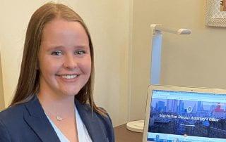 Allison Schultz's virtual internship was rewarding.