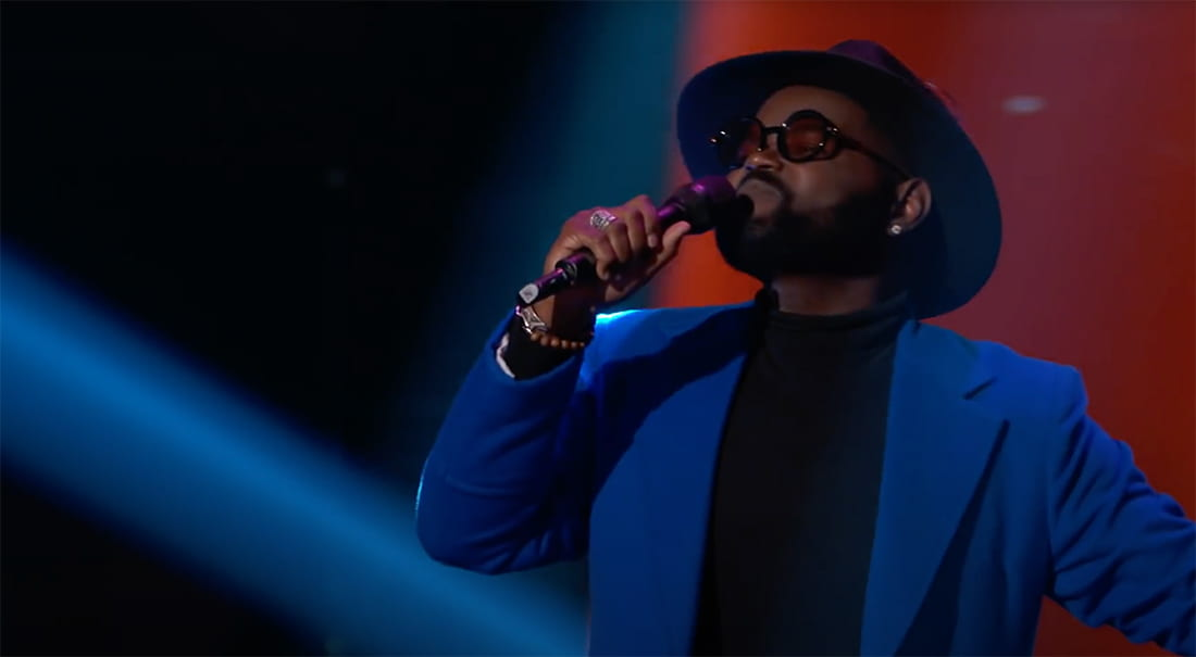 John Holiday wows 'The Voice' judges.