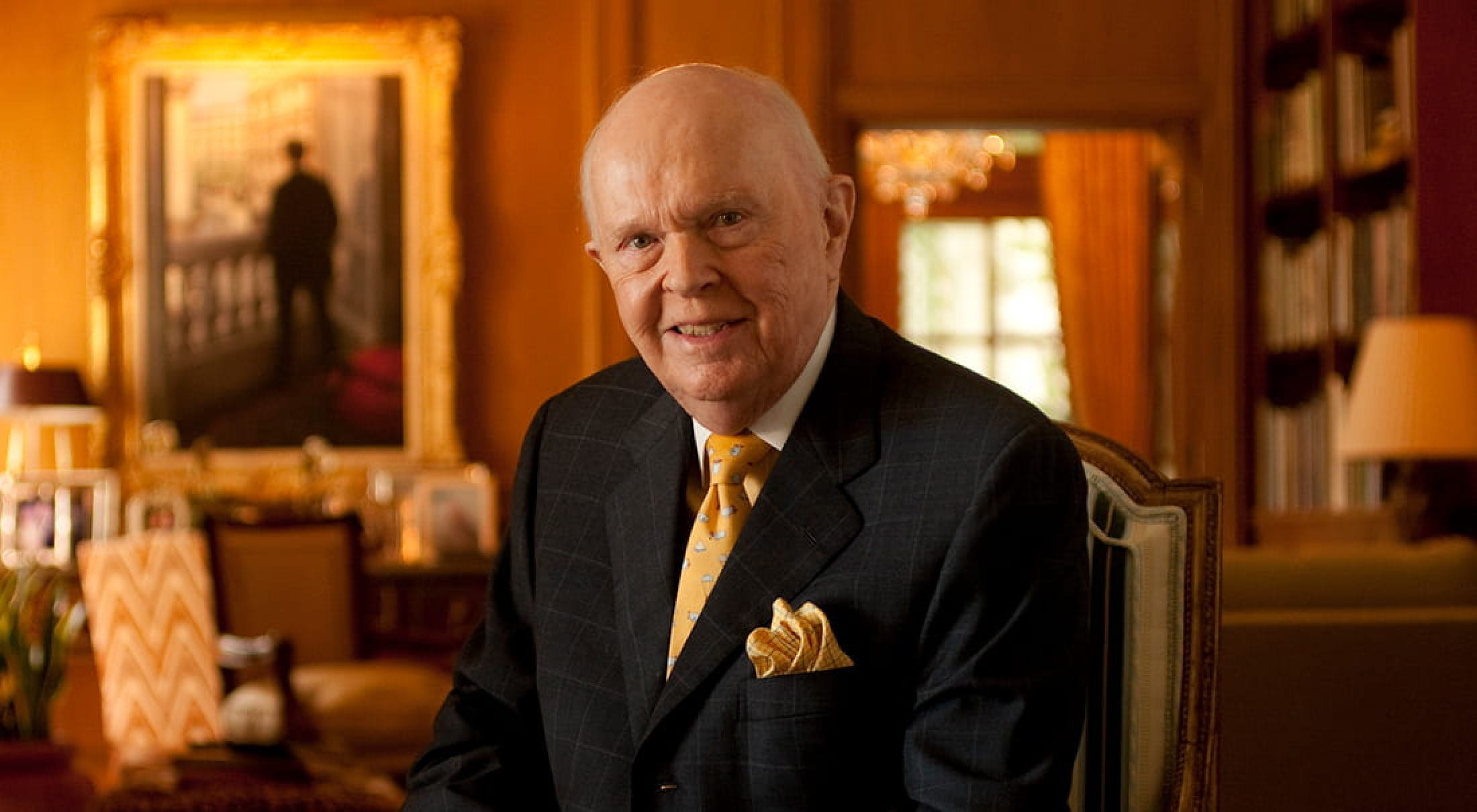 Edwin L. Cox Sr. '42 died on November 5, 2020.