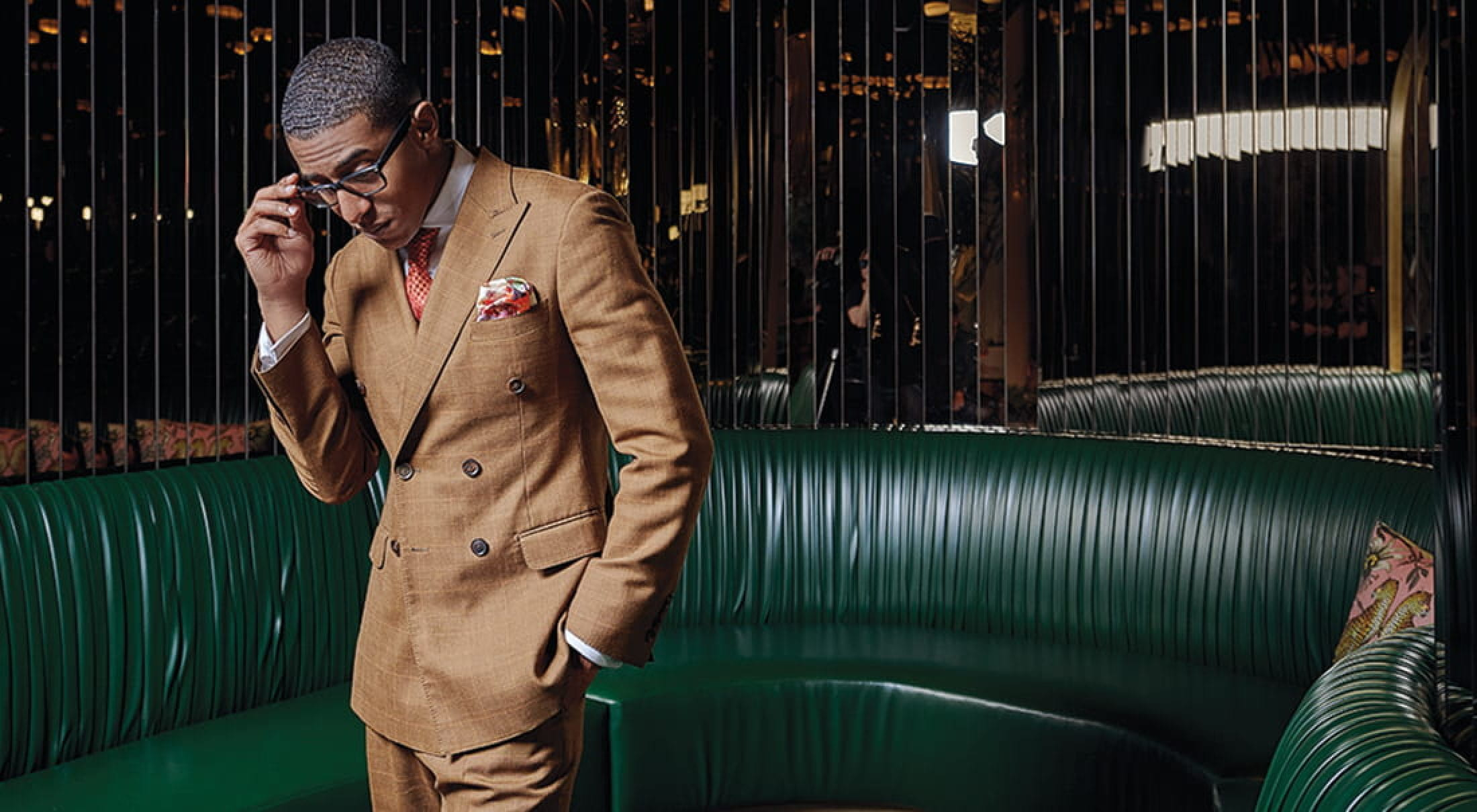 NeAndre Broussard uses style to change the cultural narrative about Black men.