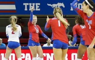 SMU volleyball is on a winning streak