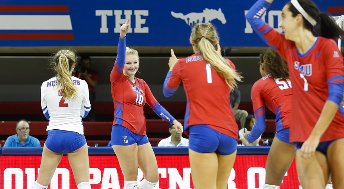 SMU volleyball is on a winning streak